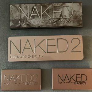 Urban Decay Palettes $60 for all 4